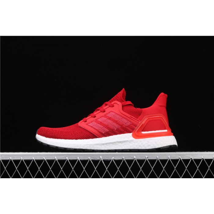 Adidas Ultra Boost 20 Consortium Red EG0706 Red White