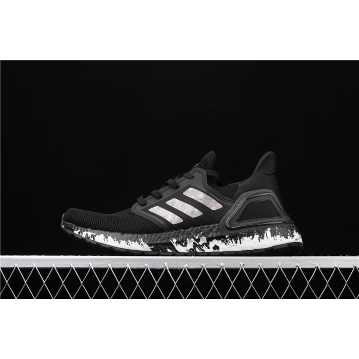 Men's Adidas Ultra Boost 20 Consortium EF1342 Black Ink