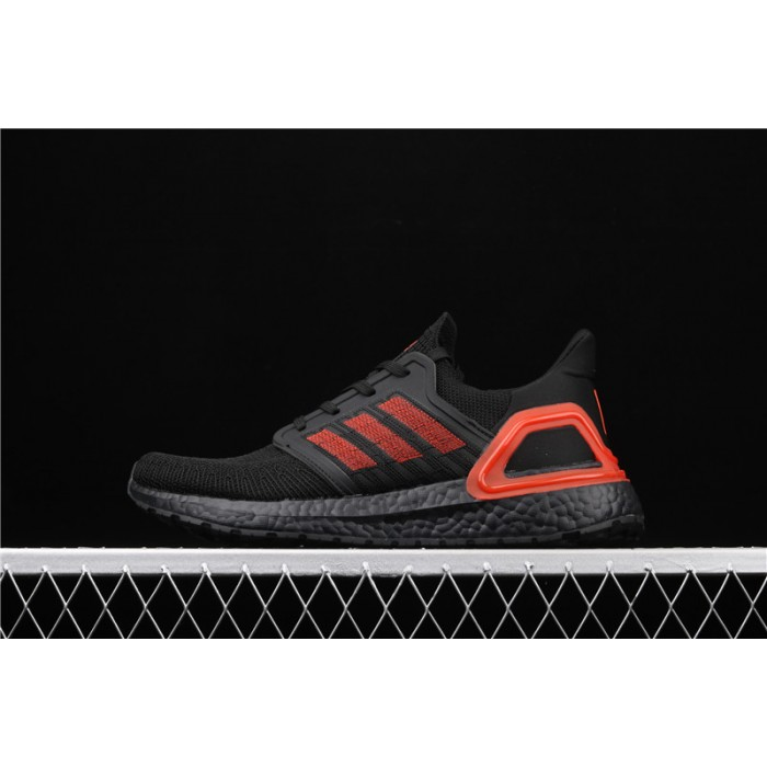 Men's Adidas Ultra Boost 20 Consortium EG0698 Black Orange