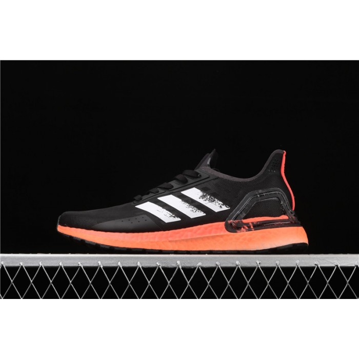 Men's Adidas Ultra Boost 20 Consortium PB EG0427 Black Orange