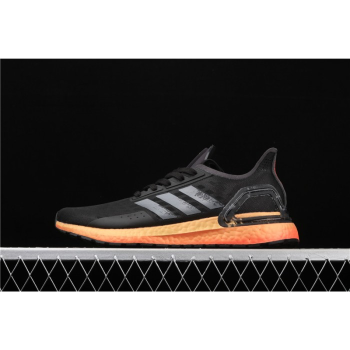 Men's Adidas Ultra Boost 20 Consortium PB EG0430 Black Orange
