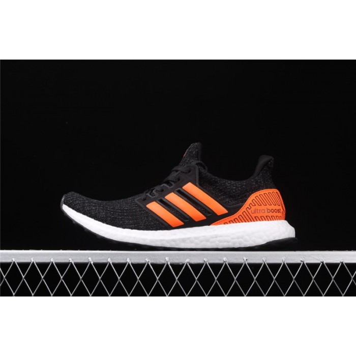 Men's Adidas Ultra Boost 4.0 EH1423 Black Orange