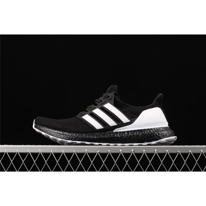 Men's Adidas Ultra Boost 4.0 G28965 Black White