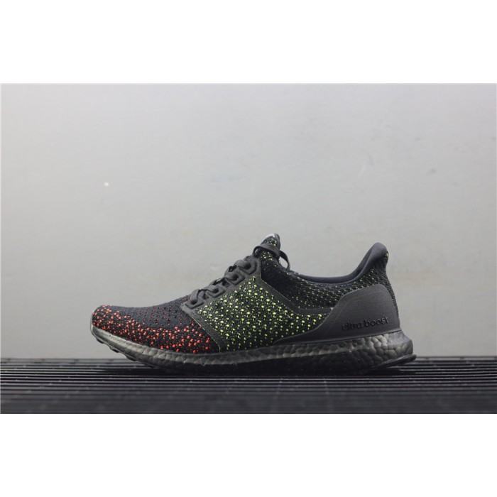 Men's Adidas Ultra Boost Clima 4.0 AQ0482 Black Orange