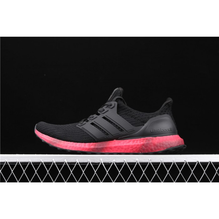 Men's Adidas Ultra Boost FV7282 Black Red