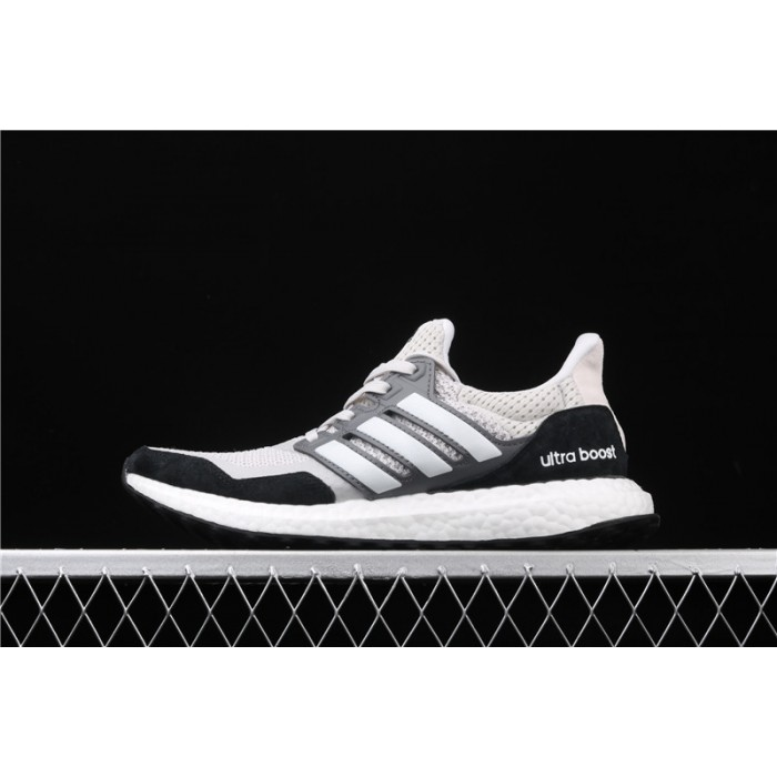Men's Adidas Ultra Boost Pure EF0722 White Black Grey