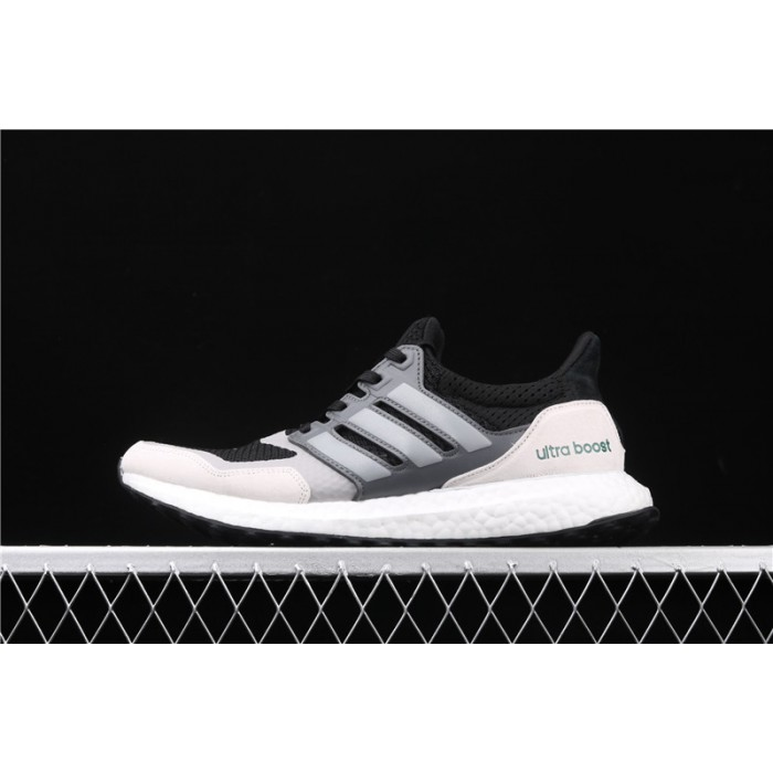 Men's Adidas Ultra Boost Pure EF0726 Black White Silver 3M