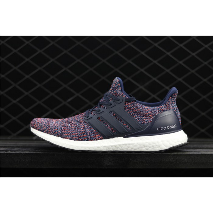 Men's Adidas Ultra Boost UB4.0 BB6165 Blue Orange White
