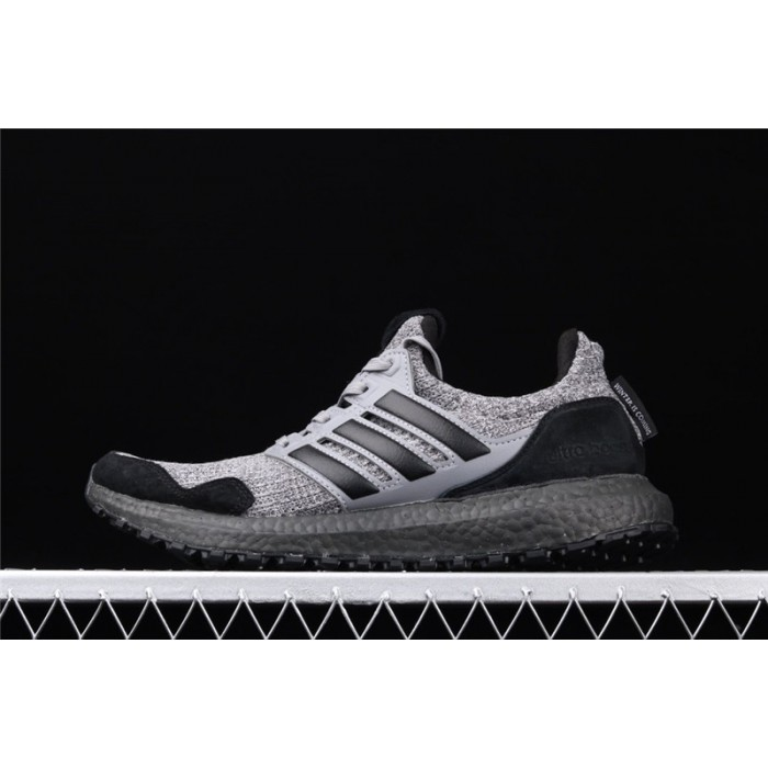 Men's Game Of Thrones x Adidas Ultra Boost 4.0 EE3706 Dark Grey Black