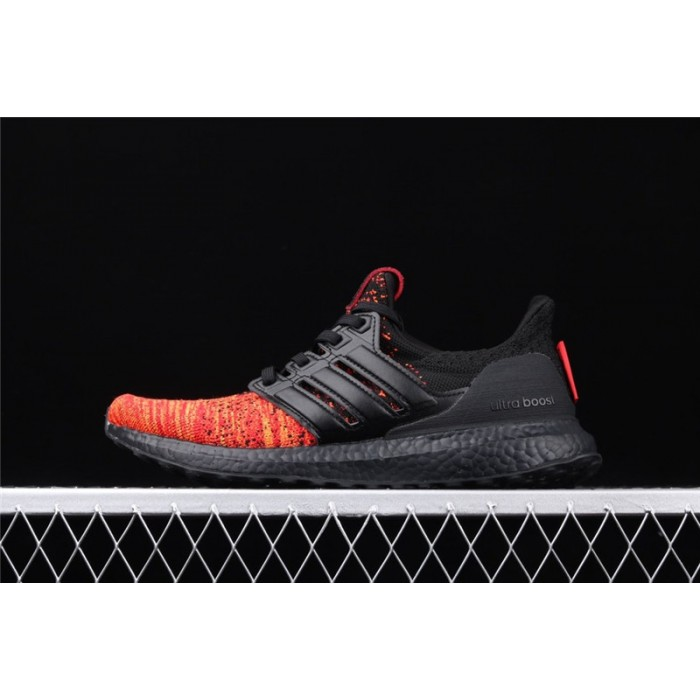 Men's Game Of Thrones x Adidas Ultra Boost 4.0 EE3709 Black Orange