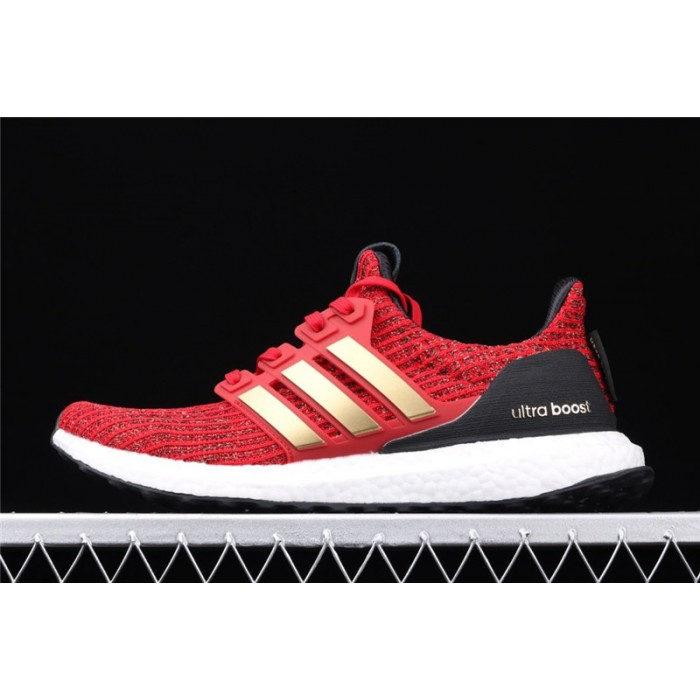 Men's Game Of Thrones x Adidas Ultra Boost 4.0 EE3710 Red Golden