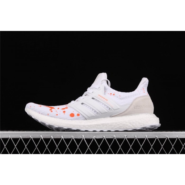 Men's Madness x Adidas Ultra Boost 4.0 EF0143 White Orange