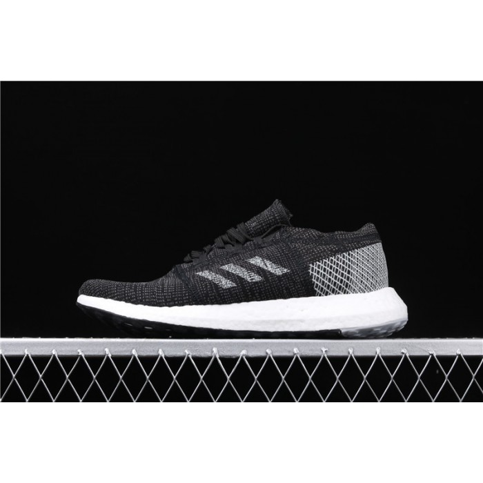 Men's Adidas Pure Boost Go B37803 White Black