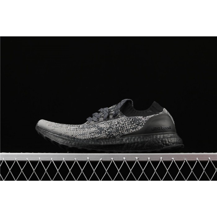 Men's Adidas Ultra Boost Uncaged LTD Triple Black BB4679 Dark Gray