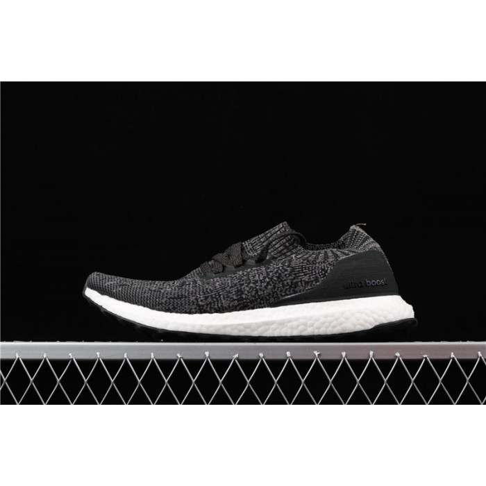 Men's Adidas Ultra Boost Uncaged LTD Triple Black BY2551 Dark Gray